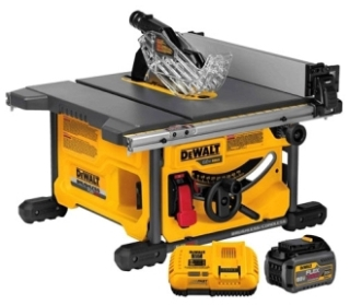 DWT DCS7485T1 DEWALT 60V TABLE SAW 1 BATTERY KIT