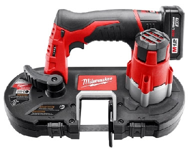 MIL 2429-21XC (PROMO) M12 Cordless Sub-Compact Band Saw Kit - Get (1) FREE M12 XC6.0 EXTENDED CAPACITY BATTERY PACK (48-11-2460)