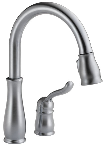 DELTA LELAND 1 HANDLE PULL DOWN FCT AS