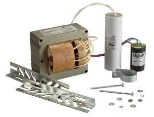 KEY MPS-400A-Q-KIT 400W Pulse Start (M135) Metal Halide Ballast Kit, 88% Efficiency