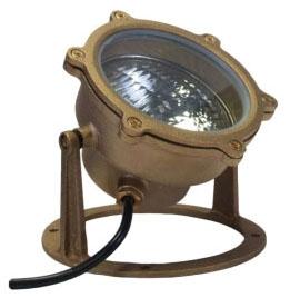 (ORBIT) 5500 PAR36 UNDERWATER SOLID BRASS LOW VOLTAGE LIGHT FIXTURE (LAMP NOT INCLUDED) 5500-NL