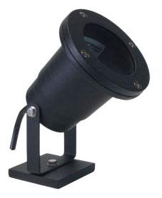 (ORBIT) 5510-BK BLACK CAST ALUMINUM 20W 1-LIGHT MR16 UNDERWATER LIGHT FIXTURE WITH 25' CORD (LAMP INCLUDED)