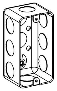 ORBT DHB-1-50 1-G HANDY BOX 1-7/8IN DEEP 1/2IN KO