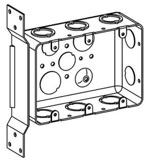ORBT DHB-3-FB 3-G DRAWN HANDY BOX + FLT BRKT 2-1/8IN DP