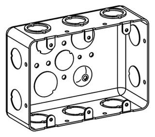 ORBT DHB-3 3-G DRAWN HANDY BOX 2-1/8IN DEEP