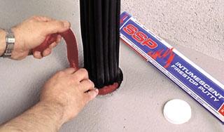 STI SSP100 2LB Fire Barrier Putty Non-hardening for retrofitting (fka MP+)