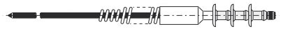 7271-6514 - Mandrel by Stanley Engineered Fastening (Avdel)