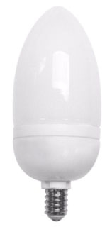 TCP-10714-41K 14W TORPEDO COMPACT FLUORESCENT LAMP 4100K