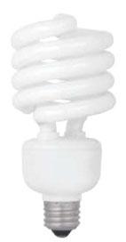 ~TCP-2893227741K 32W MEDIUM SCREW BASE 277V 4100K COMPACT FLUORESCENT LAMP