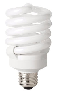 TCP-4892330K 23W 120V 3100K MEDIUM SCREW BASE SPIRAL FLUORESCENT LAMP