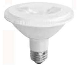 tcp LED12P30SD27KNFL TCP 12W PAR30S 2700K 850 LUMEN DIMMABLE 25DEG LED LAMP