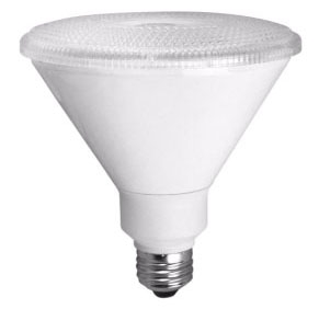 TCP-LED14P38D30KSP DIMMABLE 14W SMOOTH PAR38 - 3000K 15 DEGREE