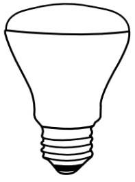 TCPI LED8R20D41K 8W LAMP