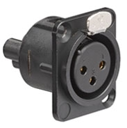 Multimedia Outlet System XLR Connector
