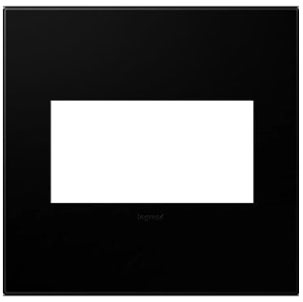 pas AWP2G-NK4 ADORNE 2G WALL PLATE BLACK INK