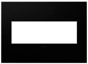 pas AWP3GNK4 ADORNE BLACK INK 3G WALLPLATE