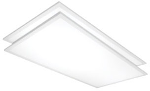 sat 65-325 SAT 2X4 LED FLAT PANEL 4000K 4968 LUMEN 0-10V DIMMING 120-277V