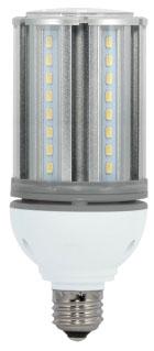 SAT S29390 18W/LED/HID/5000K/ 100-277V E26 18W LED 70W HID REPL 5000K MED BASE 100-277V 2700 Lumens