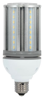 sat S29670 SAT LED 18W 2700K MED BASE 100-277V 2070 LUMEN (REPLACES 70W HID)