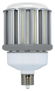 (S29675) 80W/LED/HID/4000K/100-277V 80W 100-277V 4000K MOGUL EXTENDED (EX39) BASE NON-DIMMABLE OMNI-COB LED LAMP 10400 LUMENS 50,000 HOUR AVERAGE RATED LIFE