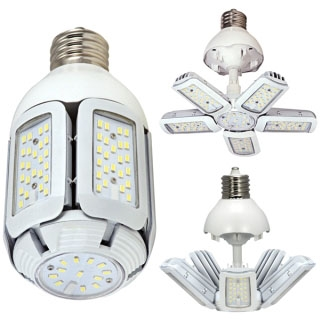 sat S29768 SAT LED 2700K 3660 LUMEN MED BASE 100-277V MULTI-BEAM (REPLACES 150W HID)