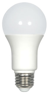 sat S29837 SAT 9.8W A19 3500K 800 LUMEN DIMMABLE 120V LED LAMP