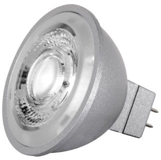 sat S8643 SAT 8W 4000K 490 LUMEN DIMMABLE 40DEG MR16 12V LED LAMP