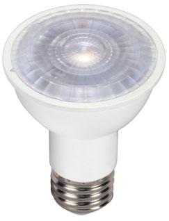 (S9389) 6.5PAR16/LED/40'/5000K/120V 6.5W 120V 5000K MEDIUM (E26) BASE DIMMABLE 40-DEGREE LED PAR16 LAMP 500 LUMENS 25,000 HOUR AVERAGE RATED LIFE