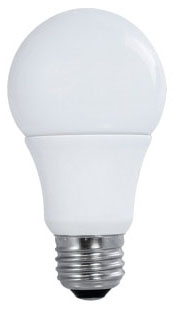 sat S9558 SAT 10W A19 4000K 800 LUMEN NON-DIMMABLE 120V LED LAMP