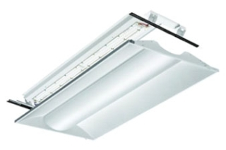 lit 2VTL4RT-40L-ADP-EZ1-LP840 LIT 2X4 LED RELIGHT ASSY FOR USE WITH EXISTING TROFFER 4000 LUMEN 120-277V
