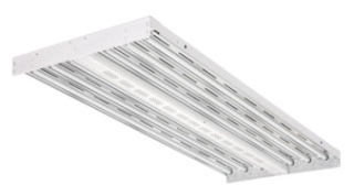 lit IBZ-654-120-GEB10PS90-CS1W LIT HIGH BAY F/6-F54HO W/ 6' WHITE CORD & 120V STRAIGHT BLADE PLUG