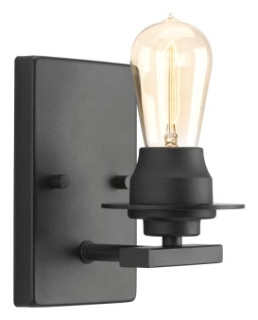 prg P300008-143 PRG 1-100 BLK WALL SCONCE