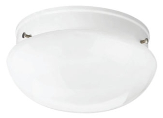 prg P3408-3030K9 PRG FITTER 1-17W LED 3000K FLUSH MOUNT WHITE