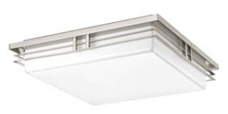 prg P3449-0930K9 PRG 3-17W LED 3000K FLUSH MOUNT