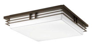 prg P3449-2030K9 PRG 3-17W LED 3000K FLUSH MOUNT