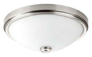 prg P350008-009-30 PRG LED Linen 36W 3000K FLUSH MOUNT grey
