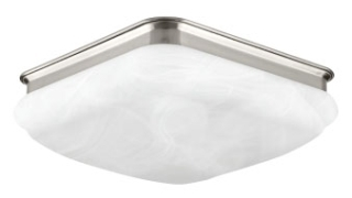 prg P350020-009-30 PRG 1-25W 3000K FLUSH MOUNT GREY