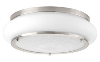prg P350082-009-30 PRG 1-25W 3000K FLUSH MOUNT Gray