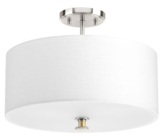 prg P350095-009 PRG Semi-Flush Convertible Nickel