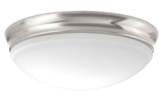 prg P350101-009-30 PRG 1-25W LED FLUSH MOUNT Gray