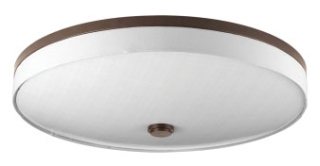 prg P3612-0930K9 PRG 3-17W LED 3000K FLUSH MOUNT GREY