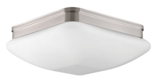 prg P3992-09 PRG 3-60W MED FLUSH MOUNT GREY