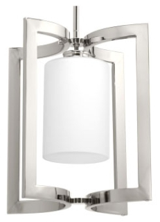 prg P500123-104 PRG 1-100W MED PENDANT Polished Nickel