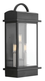 prg P560003-031 PRG 3-60W CAND WALL LANTERN