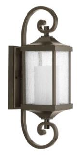 prg P560018-020 PRG 1-Lt Small Wall Lantern