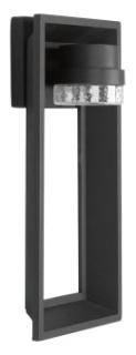 prg P560029-031-30 PRG 1-9W 3000K WALL LANTERN Black