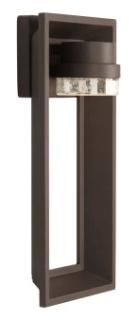prg P560029-129-30 PRG Z-1010 1-9W 3000K WALL LANTERN