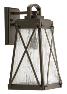 prg P560032-020 PRG 1-100W MED WALL LANTERN BROWN