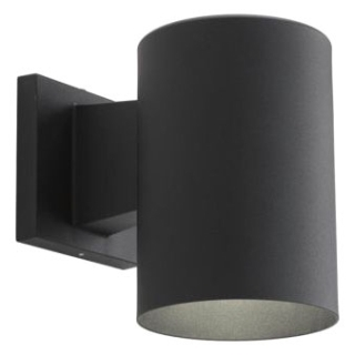 prg P5674-31/30K PRG 1/17W LED BLACK CYLINDER OUTDOOR WALL MOUNT