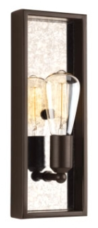 prg P710024-020 PRG 1-60W MED WALL SCONCE brown
